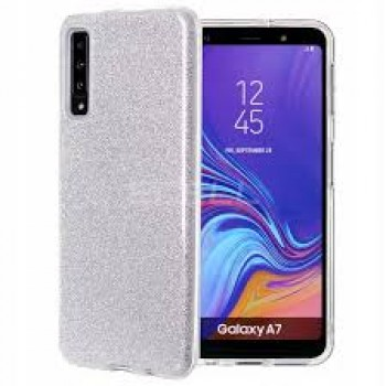 FORCELL SHINING CASE SAMSUNG GALAXY A7 2018 SILVER