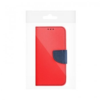 Fancy Book case for HUAWEI Y7 2019 red/navy