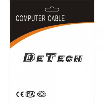 Καλώδιο, DeTech, HDMI - HDMI M / M, 1,8 μέτρα